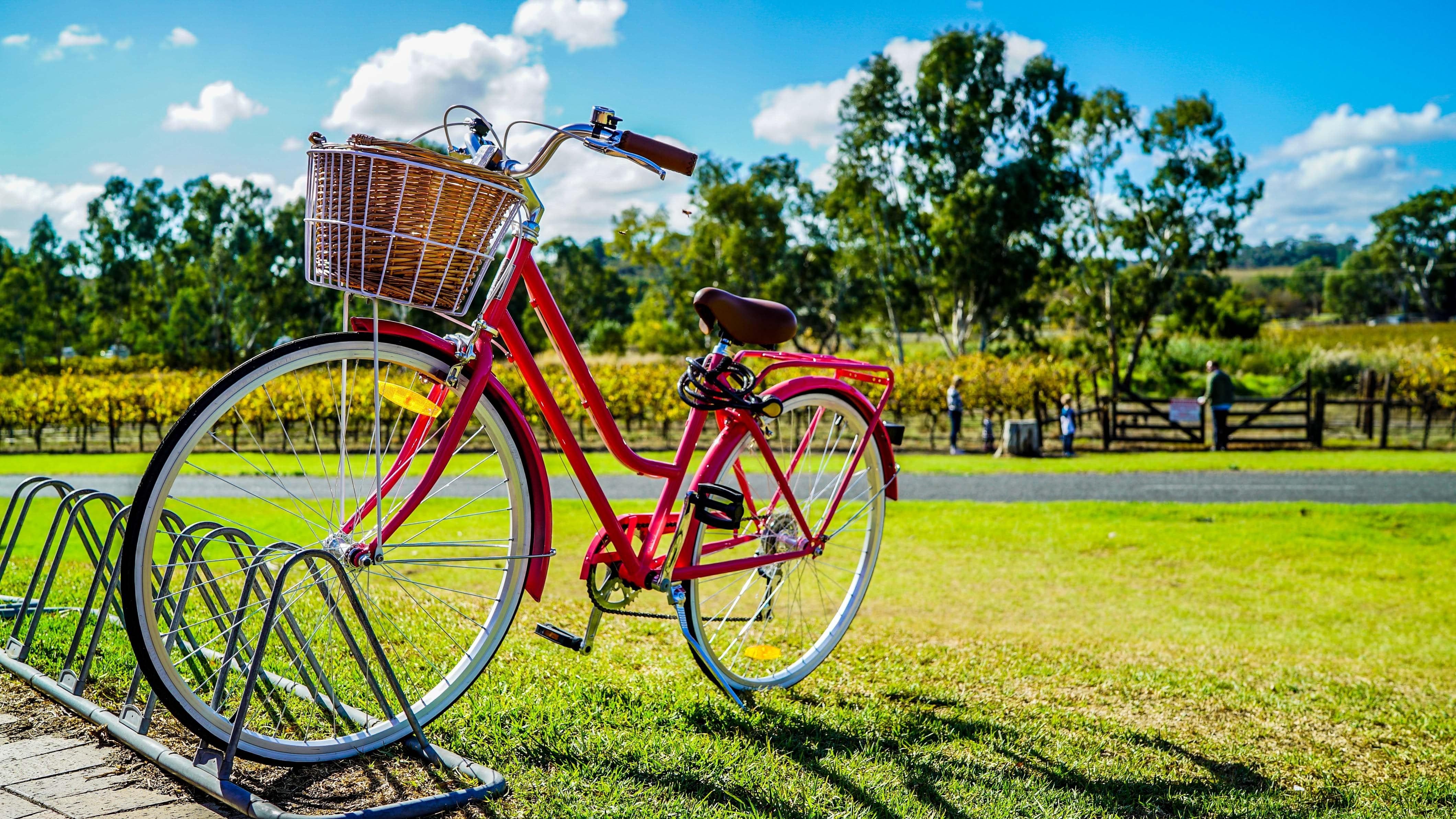 En cykel i fint väder